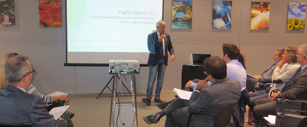 Born Puglia Digital 2.0: The first chain in the IT industry