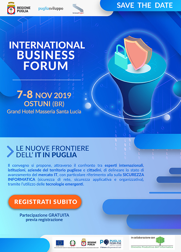 SAVE THE DATE ict forum ridotta